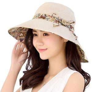1757eee261042 Accessories - Womens Sun Hat Summer UV Protection Beach Hat